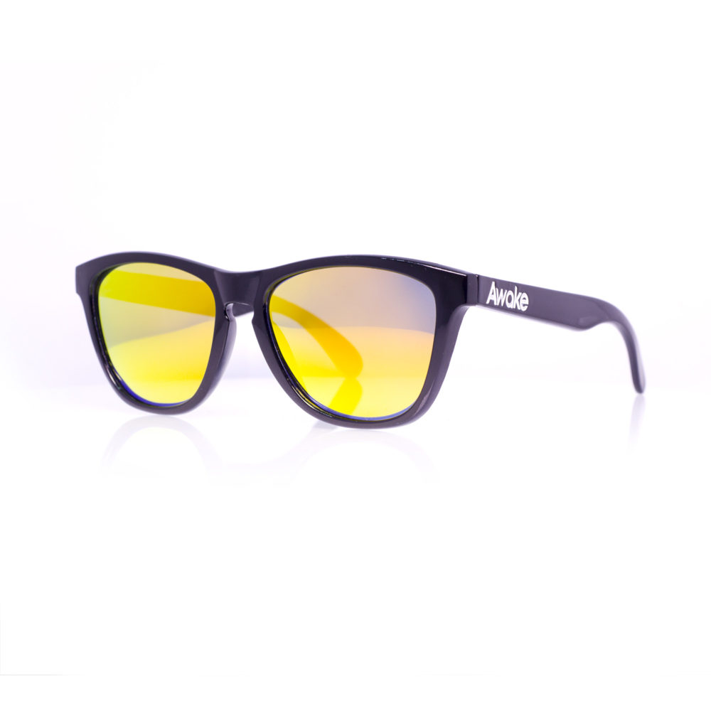 AWAKE #1 POLISHED BLACK-YELLOW-POLARIZED-1